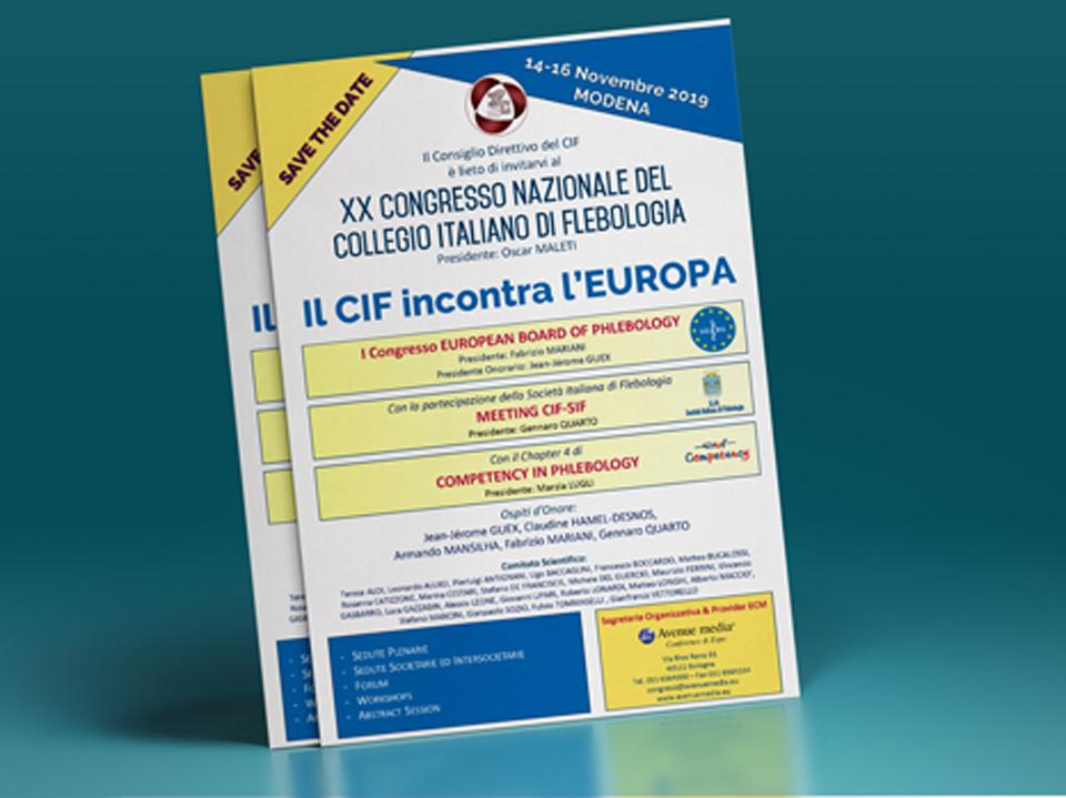 SAVE the DATE: XX Congresso Nazionale del Collegio Italiano di Flebologia.